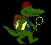 Curious the Croc