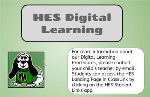 HES Digital Learning Info