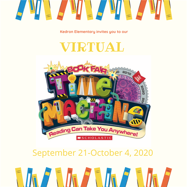Kedron's Virtual Book Fair ~ Shop Now