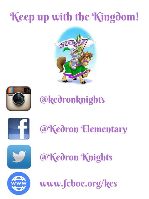 Check us out on social media!