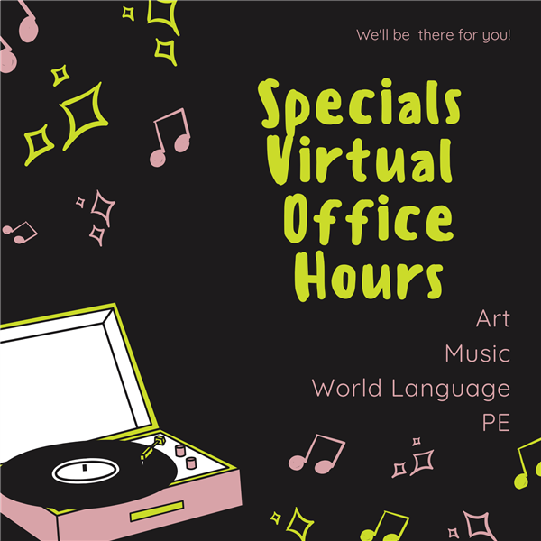 Specials Virtual Classrooms