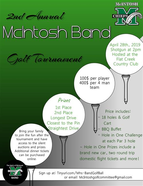MHS Band Golf Tournament