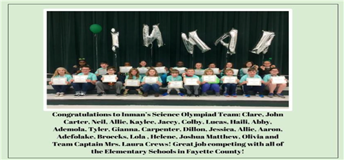 Science Olympiad Team March 2017