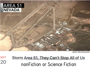 Area 51...Science Fiction?