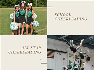 School Cheerleading vs All Star Cheerleading