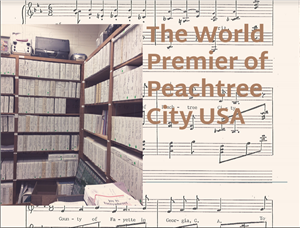The World Premier of Peachtree City USA