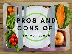 Pros and Cons of School Lunch