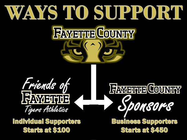 Ways to support FCHS Athletics
