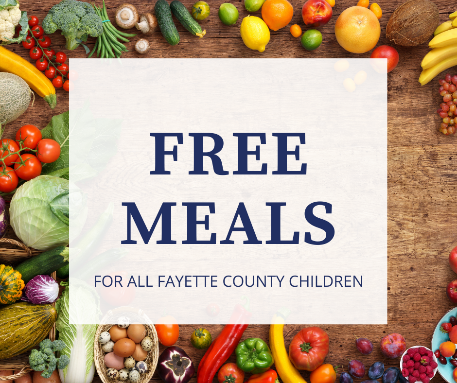 Free Meals for Fayette County Children