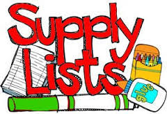 Updated Pre-K Supply List- 7/17/2020
