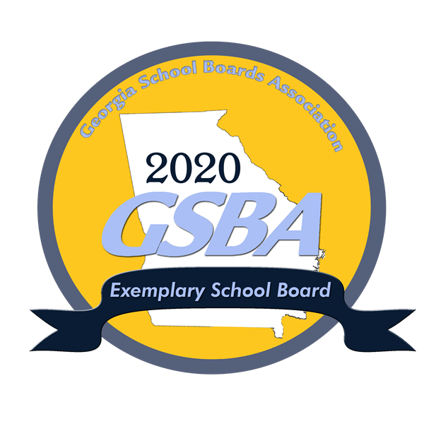 GSBA Exemplary School Board 2020 recognition badge