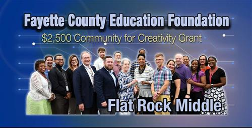 Fayette County Education Foundation/Heritage Community Foundation Support Community for Creativity