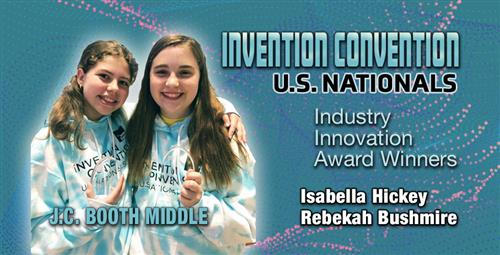 Young Inventors Win Award at National Invention Convention