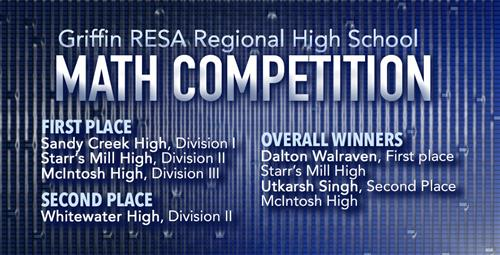 School Champs Retain Titles at Regional Math Competition