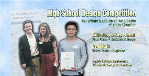 Students Win State Awards for Architectural Designs