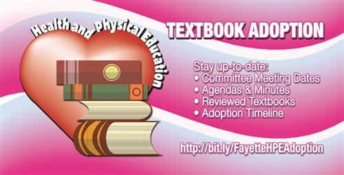 Use Website to Stay Informed About Health and Physical Education Textbook Adoption