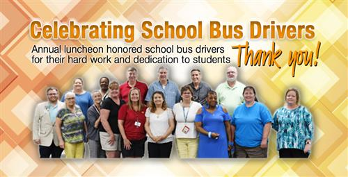 Bus Drivers Honored at Annual Luncheon