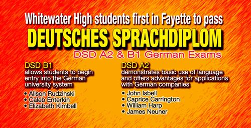 Students At Whitewater High Pass Test To Enter German University System