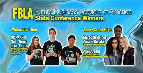 Future Business Leaders Finish In State S Top Ten Three To Compete At National Conference