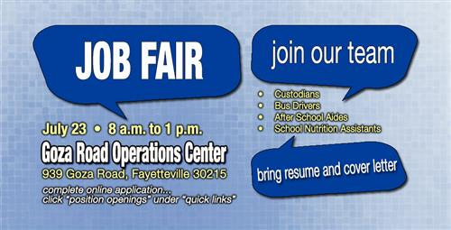 School System to Hold Job Fair for Custodians, Bus Drivers ...