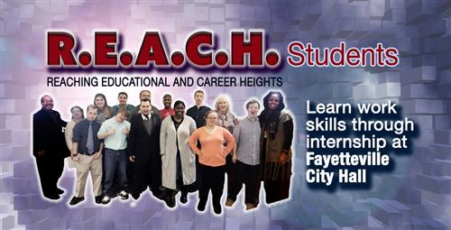REACH Students Intern at City Hall