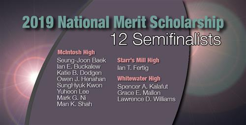Fayette County Students Named Semifinalists in National