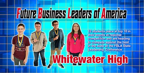 Future Business Leaders Finish in Region's Top 10