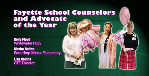 Association Names Counselors/Advocate of the Year