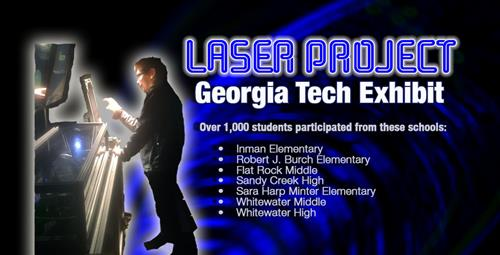Hundreds of Students Shine at Georgia Tech's Laser Show