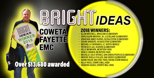 "Teachers Receive EMC Grants for ""Bright Ideas"""