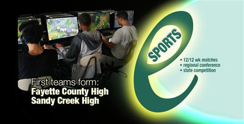 Fayette Introduces Esports: A New Way to Play