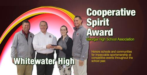 Whitewater High and Community Honored for Sportsmanship