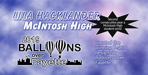 Student Wins Balloons Over Fayette Design Contest