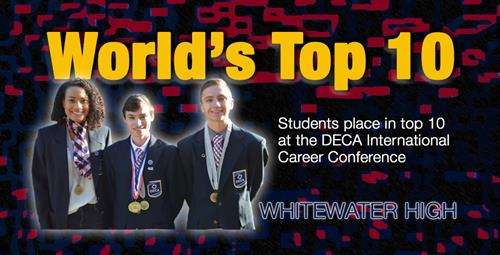 DECA Students Earn Top Placements in the World at International Conference