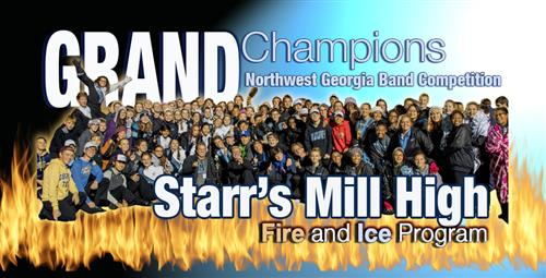 """Fire and Ice"" Takes Top Award at Band Competition"