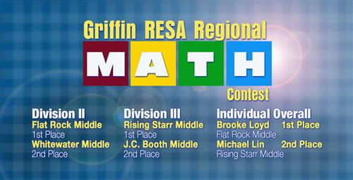 Students Have Stellar Performance at Regional Math Competition