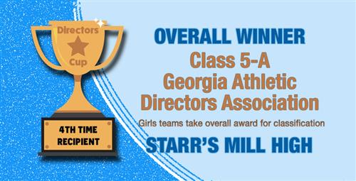 Starr's Mill High Wins Directors Cup for Overall Athletic Performance