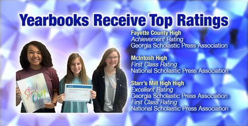 Yearbooks Receive Top State and National Ratings