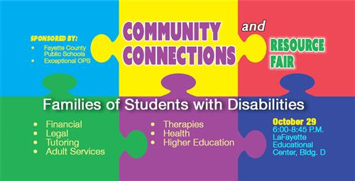Resource Fair Scheduled for Students with Disabilities