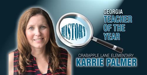 Educator in the Running for National History Teacher of the Year