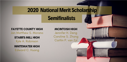 Fayette County Students Named Semifinalists in National Merit Scholarship Program