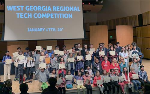 Students Take Nearly Half of Top Awards at Tech Competition