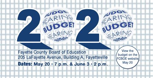 School System Budget Hearings Scheduled