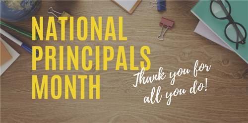 School System Honors Principals During National Principal Month