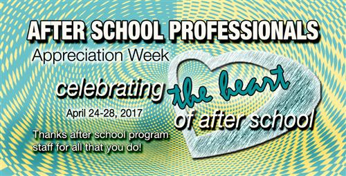 School System to Celebrate After School Professionals Appreciation Week