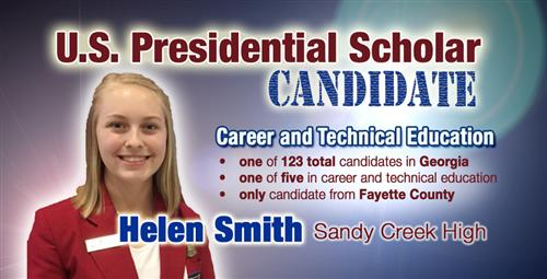 Presidential Scholar Candidate at Sandy Creek High
