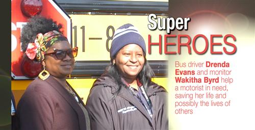 Rehab and Fitness Center Staff Thank County Bus Drivers